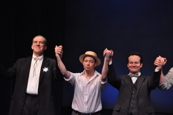 Nick Wyman, Ryan Alexander and Jamie LaVerdiere