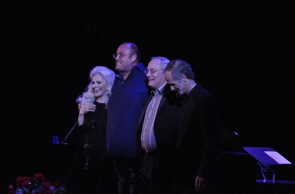 Judy Collins, Ronan Tynan, Bill Lewis and  Photo
