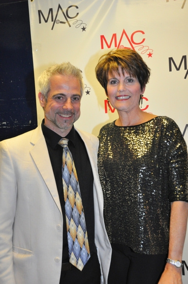 Sean Harkness and Lucie Arnaz at 2012 MAC Awards Red Carpet & Ceremony!