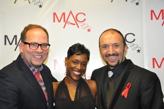 Tom Gamblin, Tanya Holt and Joseph Macchia at 2012 MAC Awards Red Carpet & Ceremony!