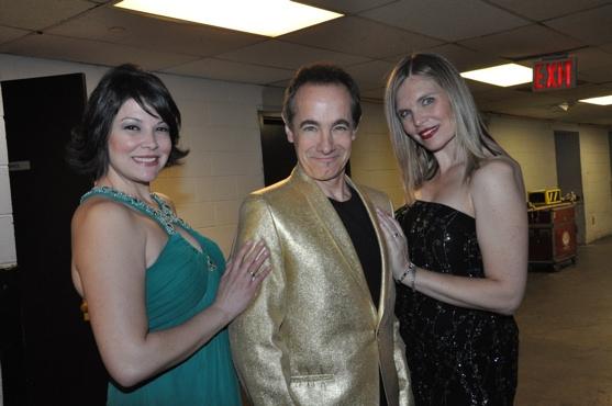Alison Eckert, Jason Graae and Julia Cook Photo