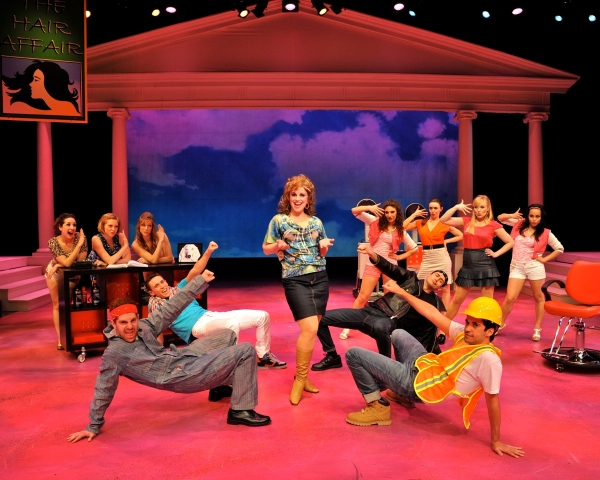Photo Flash: First Look at Westchester Broadway Theatre's LEGALLY BLONDE!