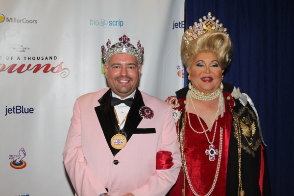 Imperial Majesty Emperor XVIII Tony Monteleone and Nicole the Great- Queen Mother of  Photo