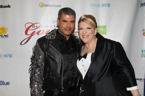 Mike Ruiz and Lisa Lampanelli