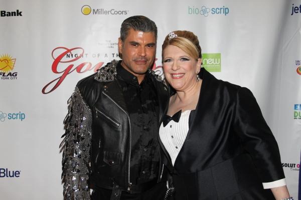 Mike Ruiz and Lisa Lampanelli