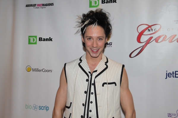 Johnny Weir at Night of 1000 Gowns Red Carpet!