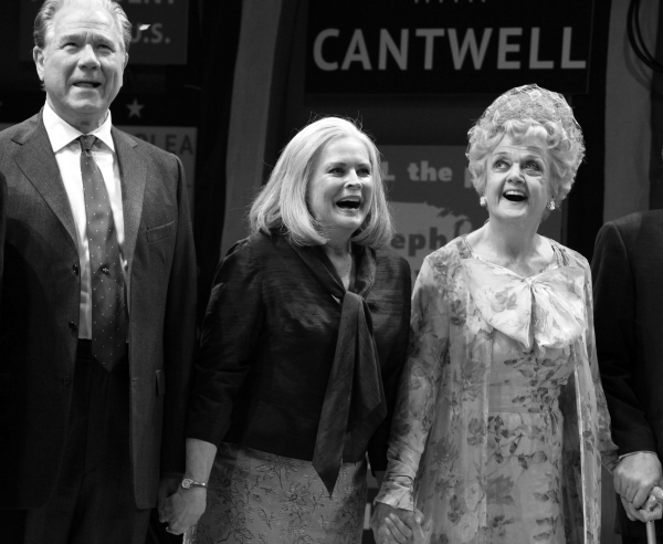 John Larroquette, Candice Bergen & Angela Lansbury