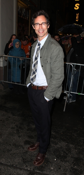 Photo Coverage: THE BEST MAN Celebrates Opening with Fans at the Stage Door!