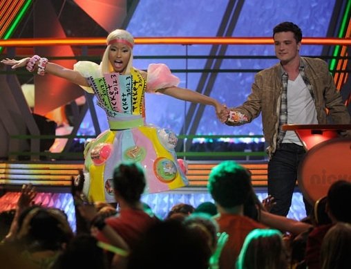 3 at Nickelodeon's 2012 KID'S CHOICE AWARDS