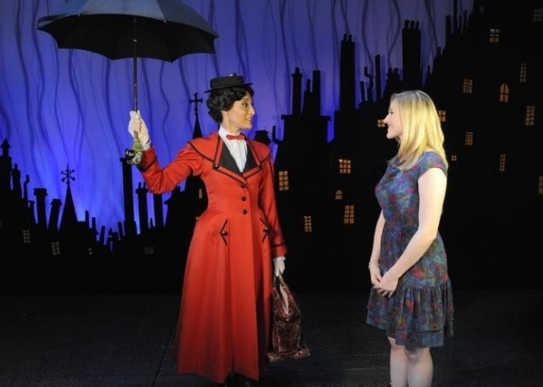 Photo Flash: ABC's 'The Chew' Visits Set of MARY POPPINS
