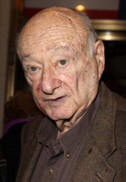 Ed Koch at GORE VIDAL's THE BEST MAN Starry Theatre Arrivals!
