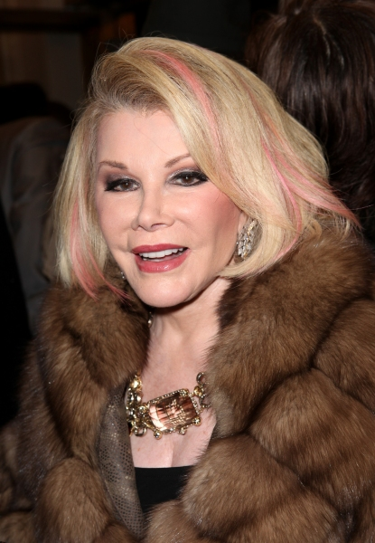 Joan Rivers  at GORE VIDAL's THE BEST MAN Starry Theatre Arrivals!