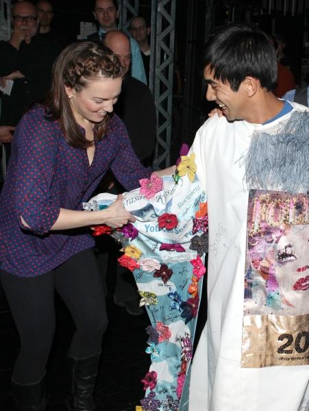 Photo Coverage: Inside the NEWSIES Gypsy Robe Ceremony!