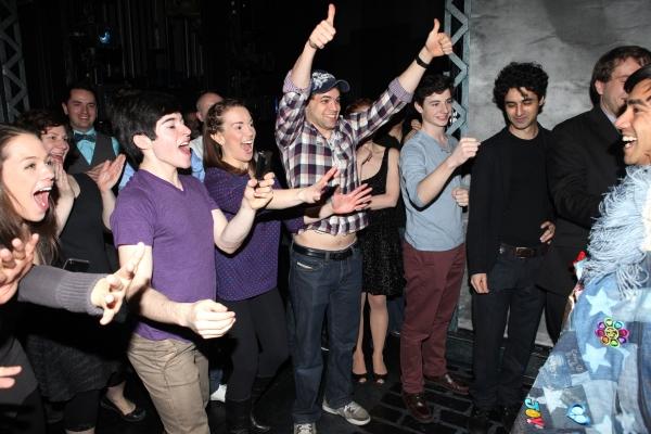 Aaron J. Albano with Andy Richardson, Kara Lindsay, Jeremy Jordan & Company
