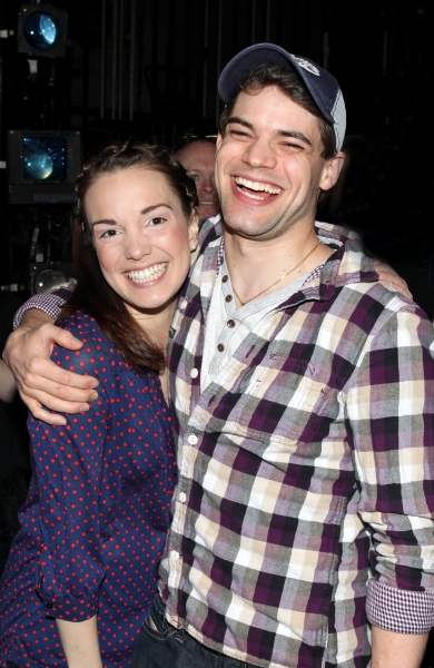 Kara Lindsay & Jeremy Jordan