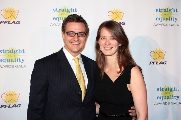 Chris Hayes, Kate Hayes at PFLAG National Honors Audra McDonald & Will Swenson and More at the 2012 Straight For Equality Awards Gala