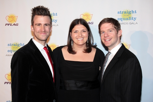 Gavin Creel, Jenny Kanelos, Rory O'Malley at PFLAG National Honors Audra McDonald & Will Swenson and More at the 2012 Straight For Equality Awards Gala