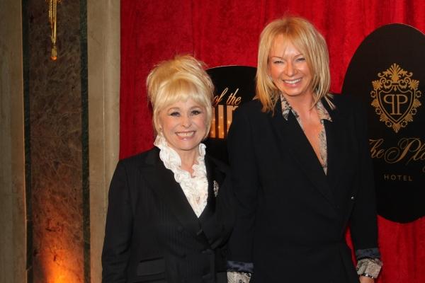 Barbara Windsor and Judy Cramer