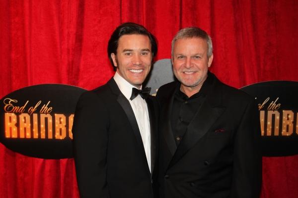 Tom Pelphrey and Ron Raines