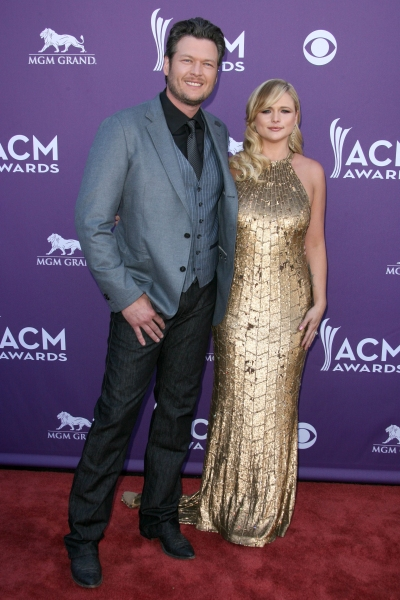 Blake Shelton and Miranda Lambert at 47th Academy of Country Music Awards