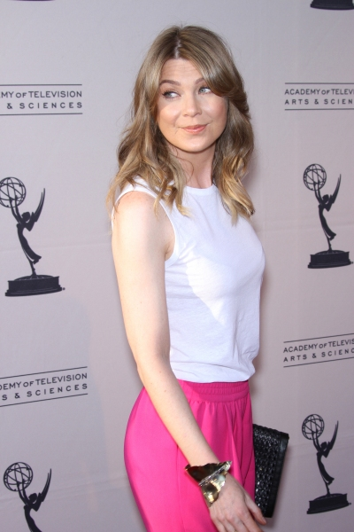 Ellen Pompeo at Arrivals at WELCOME TO SHONDALAND
