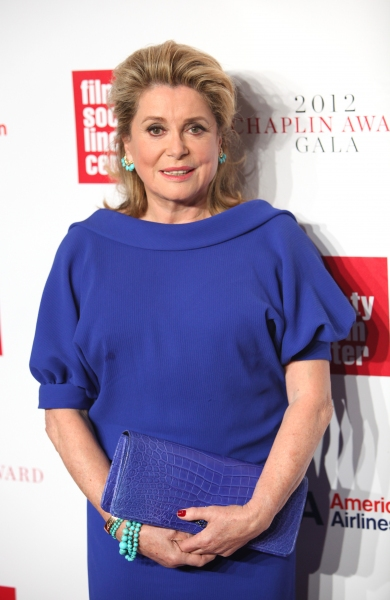 Catherine Deneuve at Film Society of Lincoln Center Honors Catherine Deneuve with Chaplin Award