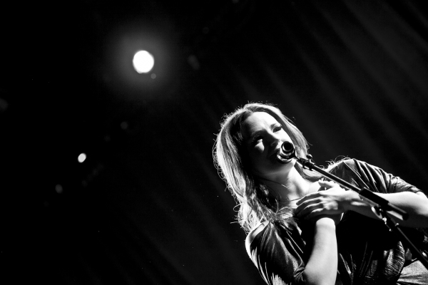 Photo Coverage: Carrie Manolakos Takes the Stage at (le) poisson rouge to Celebrate CD Release Party
