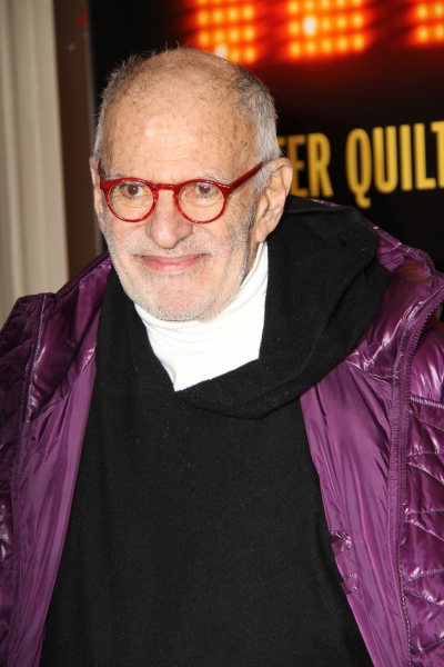 Larry Kramer at END OF THE RAINBOW's Starry Opening Night Arrivals!