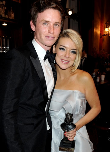Eddie Redmayne and Sheridan Smith at Photo Flashback: The Olivier Awards 2011 In Pictures!