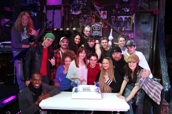Photo Coverage: ROCK OF AGES Turns 3 on Broadway!