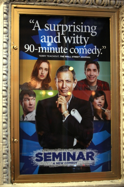 Photo Coverage: Jeff Goldblum, Justin Long & Zoe Lister-Jones Take Premiere Bow in SEMINAR!
