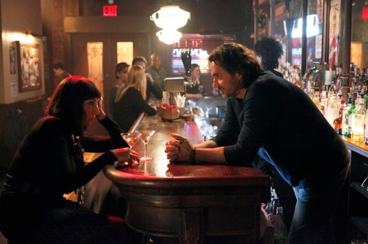 Anjelica Huston & Thorsten Kaye at First Look - SMASH's 'Understudy' Episode
