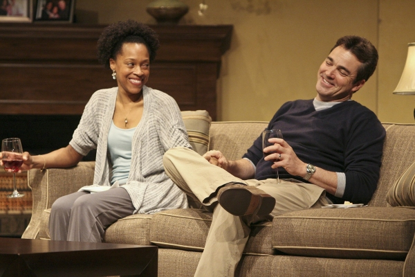 Cherise Boothe and Jon Tenney