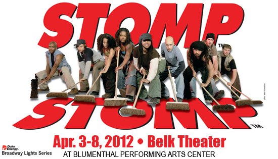 BWW Reviews: STOMP At The Blumenthal Performing Arts Center   Truly Unique