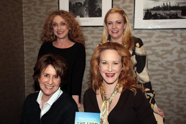 Carol Kane, Melissa Joan Hart, Delia Ephron, Katie Finneran at Katie Finneran, Melissa Joan Hart et al. Read Delia Ephron's THE LION IS IN