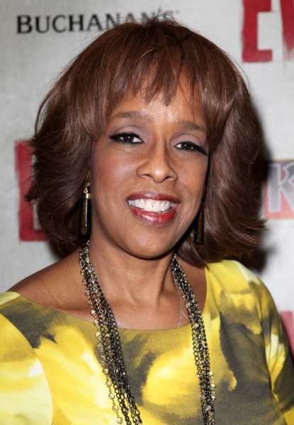 Gayle King at EVITA's Starry Opening Night Arrivals!