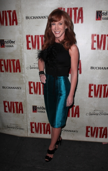 Kathy Griffin at EVITA's Starry Opening Night Arrivals!