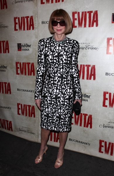 Anna Wintour at EVITA's Starry Opening Night Arrivals!