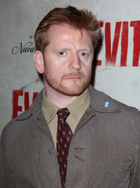 Christopher Oram at EVITA's Starry Opening Night Arrivals!