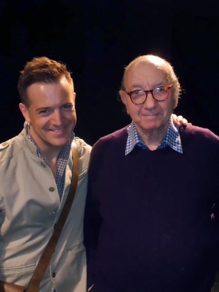 Photo Flash: Neil Simon Visits SILENCE! THE MUSICAL