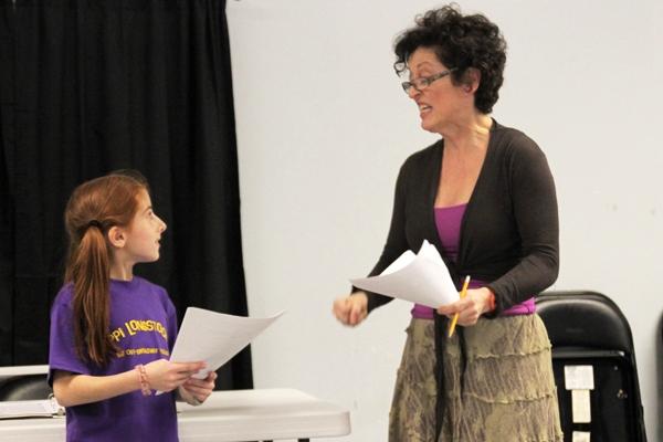 Julianna Riglioso (Pippi) with Terry Palasz (Teacher)