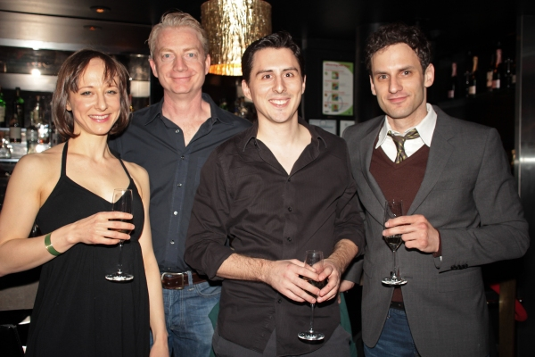 Photo Coverage: ONE MAN, TWO GUVNORS Company Toast Broadway Opening