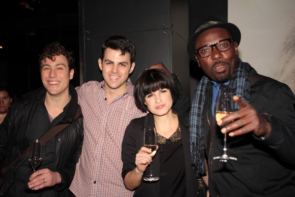 Photos: ONE MAN, TWO GUVNORS Company Toast Broadway Opening
