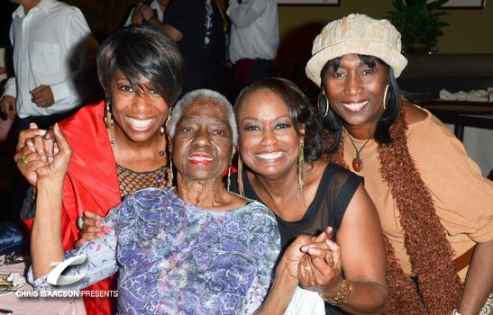 Linda Hopkins, Yvette Cason, Kiki Shepard and a friend - Upright Cabaret at Catalina Jazz Club