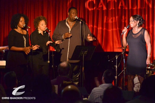 Valerie Pinkston, Lynne Fiddmont, Will Weaton and Yvette Cason perform at Catalina Jazz Club