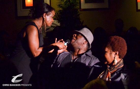 Yvette Cason with Harrison White- Upright Cabaret at Catalina Jazz Club Photo