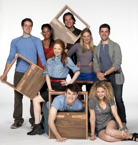 (Standing, from left) Kelsey Kurz, Nicole Lewis, Kate Morgan Chadwick, Heath Calvert, Photo