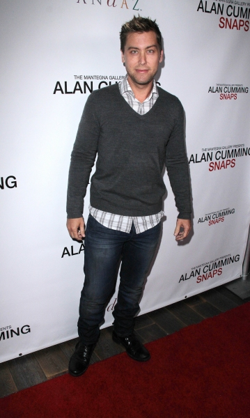 Lance Bass at ALAN CUMMING SNAPS Photography Exhibition - Neil Patrick Harris, Jackie Collins & More