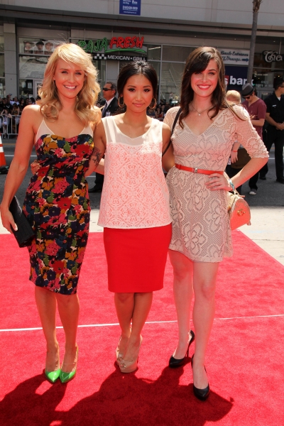 Nicky Whelan, Brenda Song, Christine Woods
