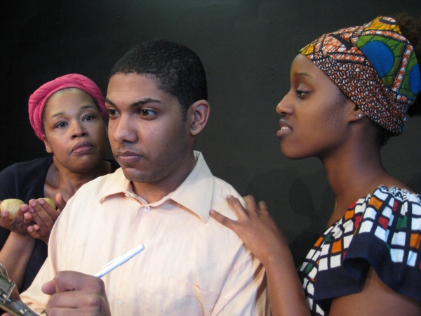 Evadne Bryan-Perkins, Michael Johnson and Gwira Kabirigi Photo
